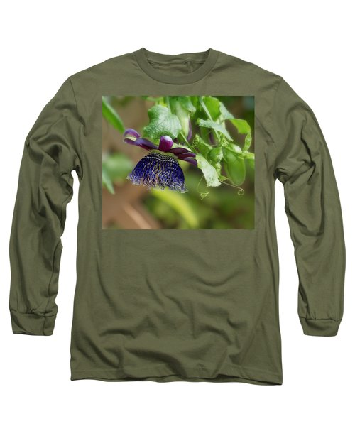 Passion Flower - Ruby Glow Long Sleeve T-Shirt