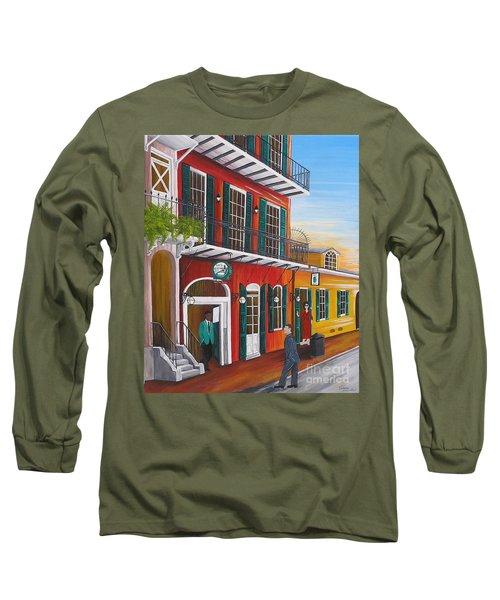 Pat O's Courtyard Entrance Long Sleeve T-Shirt