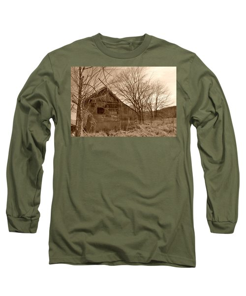 Patchwork Barn Long Sleeve T-Shirt