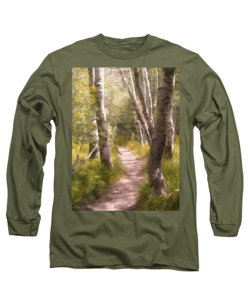 Long Sleeve T-Shirt featuring the photograph Path 1 by Pamela Cooper