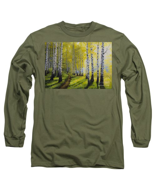 Path To Autumn Long Sleeve T-Shirt