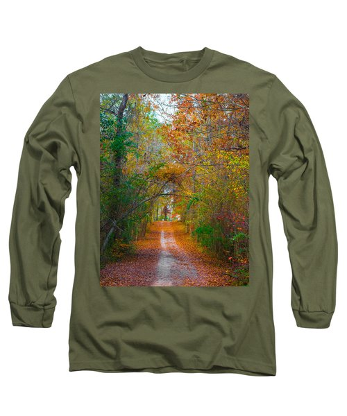 Path To The Fairies Long Sleeve T-Shirt