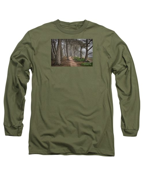 Pathway Long Sleeve T-Shirt by Alice Cahill