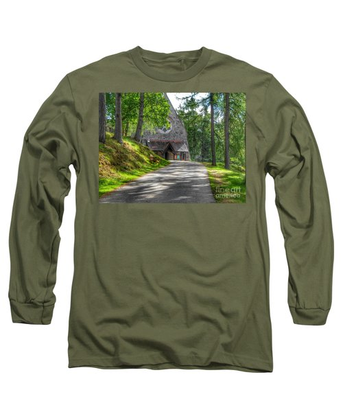 Pathway To Crathie Church Long Sleeve T-Shirt