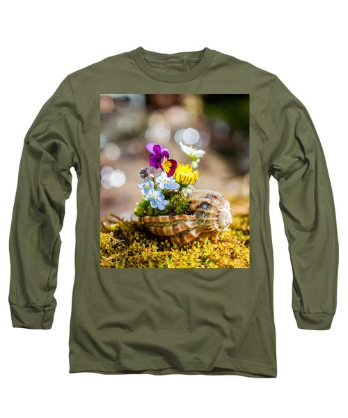 Patterns In Nature Long Sleeve T-Shirt by Aaron Aldrich