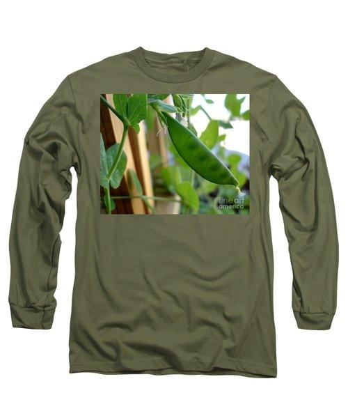 Pea Pod Growing Long Sleeve T-Shirt