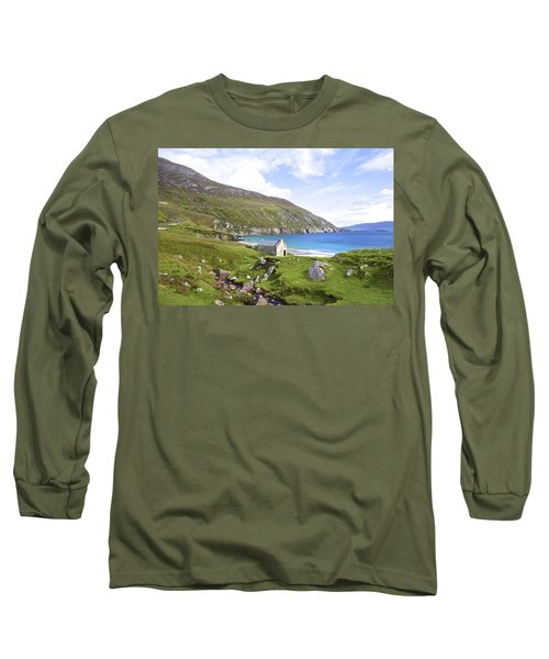 Peace On Earth Long Sleeve T-Shirt by Charlie and Norma Brock