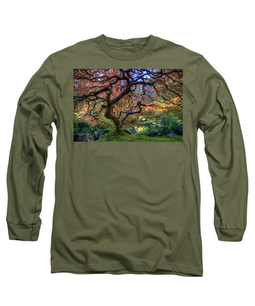 Peaceful Autumn Morning Long Sleeve T-Shirt