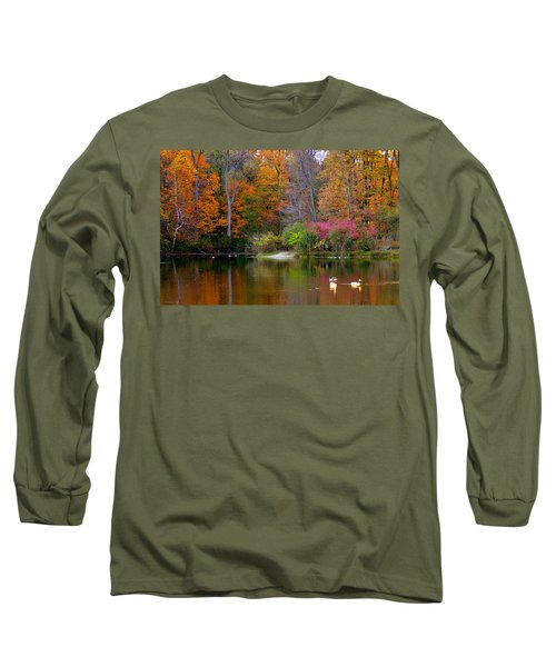 Peaceful Lake Long Sleeve T-Shirt