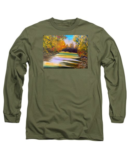 Peaceful River Long Sleeve T-Shirt