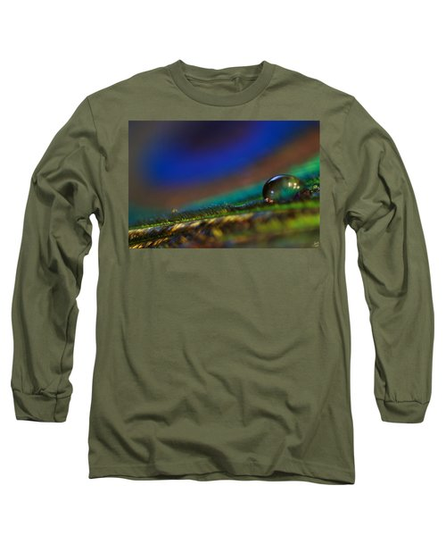 Peacock Drop Long Sleeve T-Shirt
