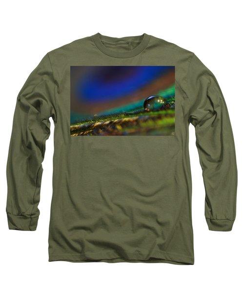 Peacock Drop Long Sleeve T-Shirt