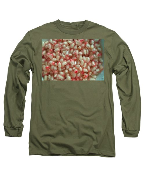 Pearly Pomegranate Seeds Long Sleeve T-Shirt