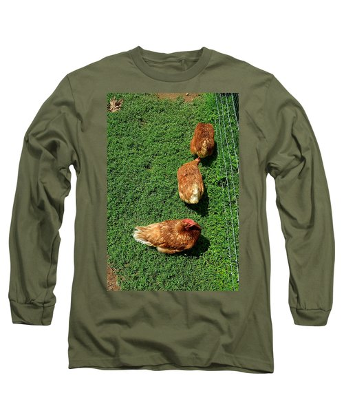 Pecking Order Long Sleeve T-Shirt