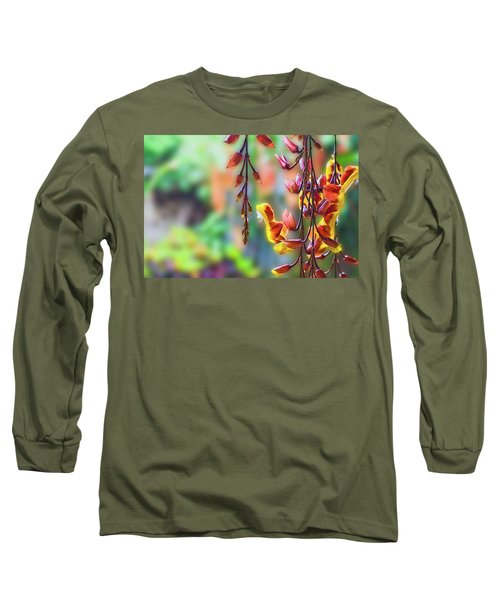 Pending Flowers Long Sleeve T-Shirt