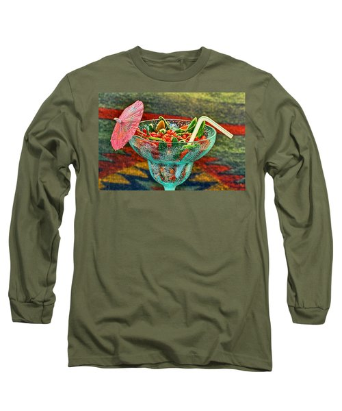 Long Sleeve T-Shirt featuring the photograph Pepperita by Gary Holmes
