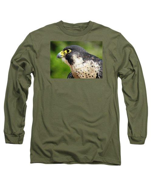 Long Sleeve T-Shirt featuring the photograph Peregrine Falcon by Cynthia Guinn