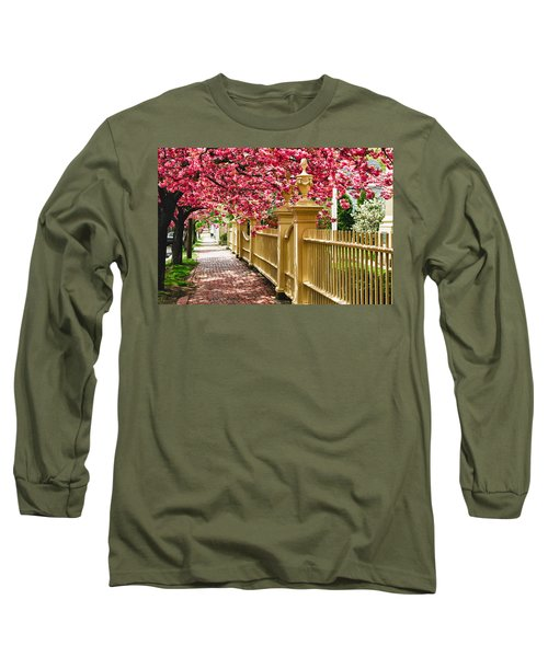 Perfect Time For A Spring Walk Long Sleeve T-Shirt