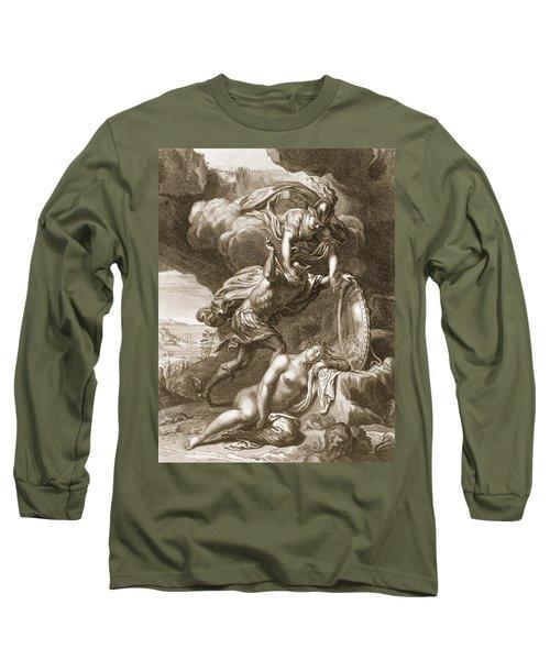 Perseus Cuts Off Medusas Head, 1731 Long Sleeve T-Shirt