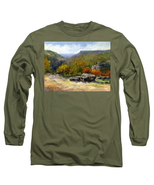Petit Jean View From Mather Lodge Long Sleeve T-Shirt