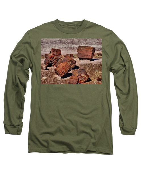 Petrified Wood Long Sleeve T-Shirt