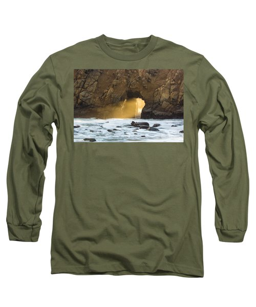 Long Sleeve T-Shirt featuring the photograph Pfeiffer At Sunset by Suzanne Luft