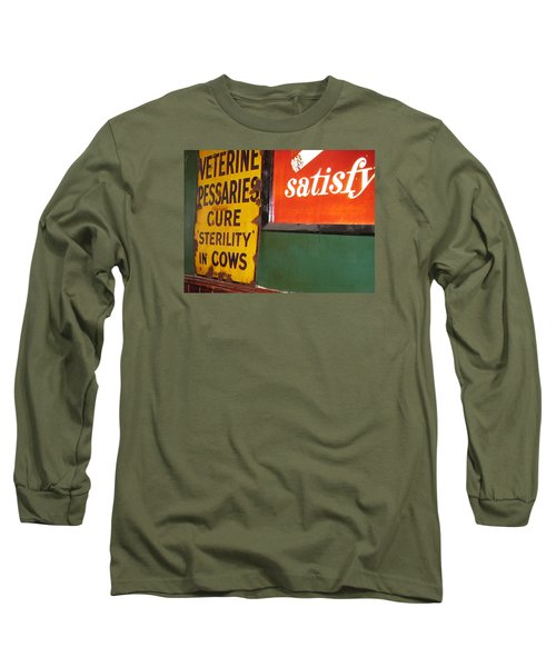 Phil Carrolls Long Sleeve T-Shirt by Suzanne Oesterling