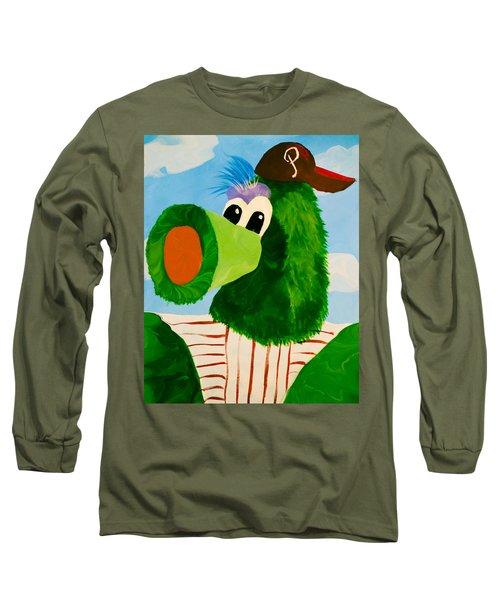 Philly Phanatic Long Sleeve T-Shirt