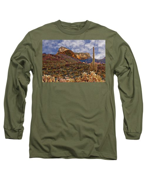 Picacho Peak Long Sleeve T-Shirt