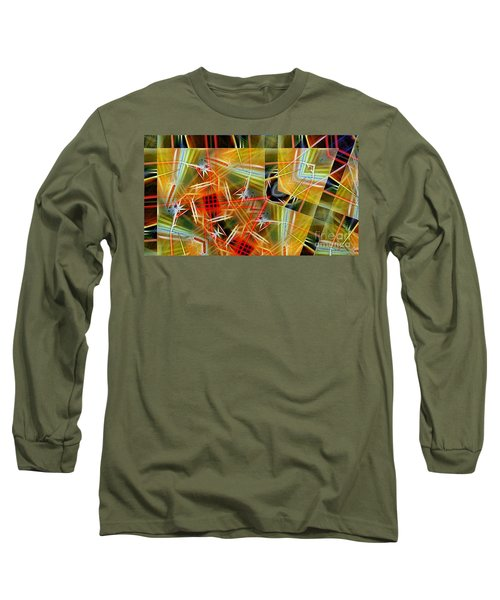 Pick Up Sticks In Geometry Long Sleeve T-Shirt