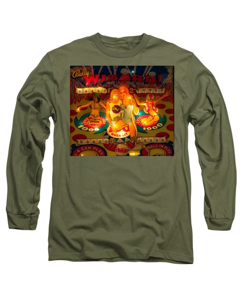 Pinball Wizard Tommy Vintage Long Sleeve T-Shirt