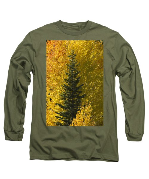 Pine In Aspens Long Sleeve T-Shirt