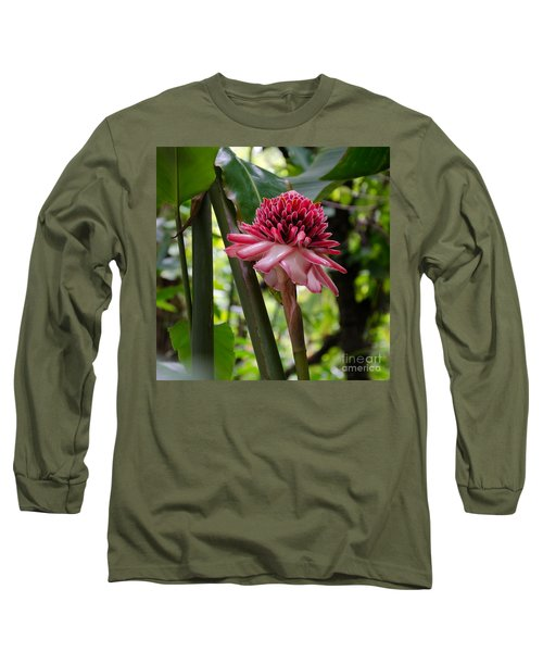 Pink Torch Ginger Long Sleeve T-Shirt