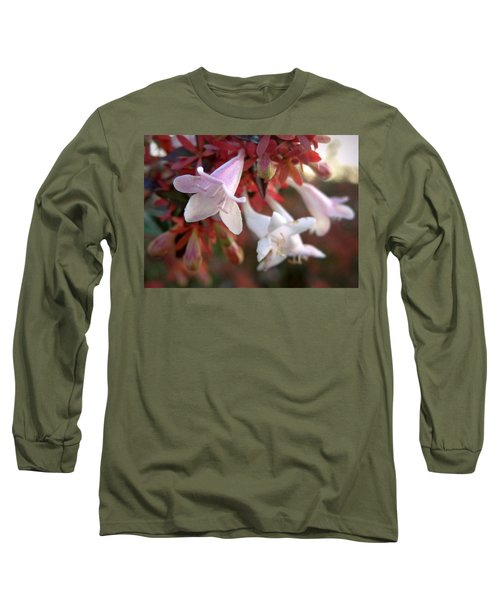 Pinks Long Sleeve T-Shirt by Joseph Skompski