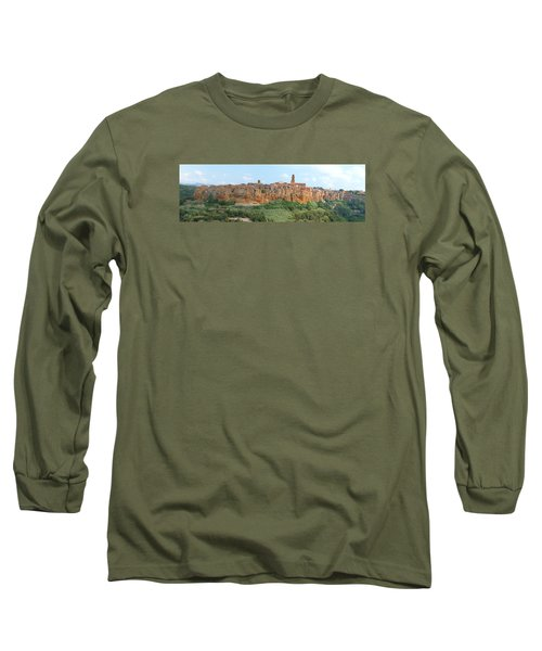 Pitigliano Panorama Long Sleeve T-Shirt