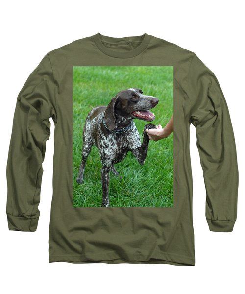 Long Sleeve T-Shirt featuring the photograph Pleased To Meet You by Lisa Phillips