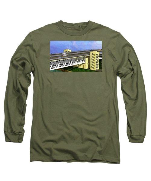 Podilsky Bridge Long Sleeve T-Shirt