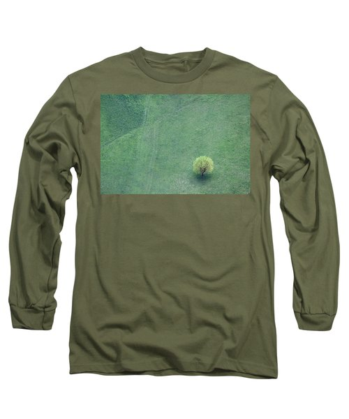 Long Sleeve T-Shirt featuring the photograph Point In The Plane by Davorin Mance