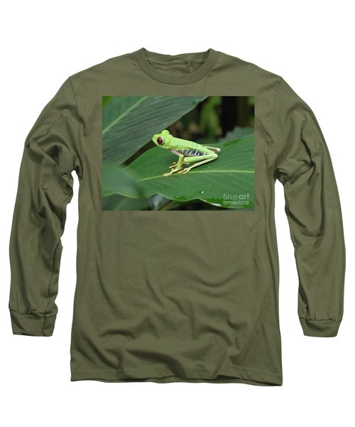 Poison Dart Frog Long Sleeve T-Shirt