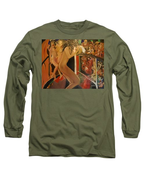Pole Dancers And Their Admirers Long Sleeve T-Shirt