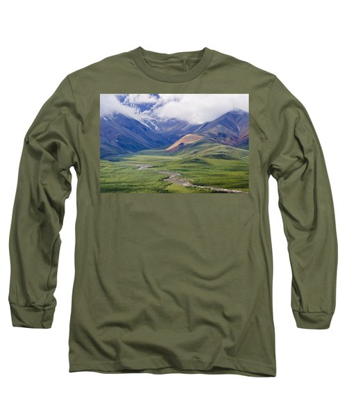 In The Beginning, God Created... Long Sleeve T-Shirt