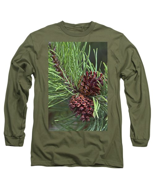Ponderosa Pine Cones Long Sleeve T-Shirt