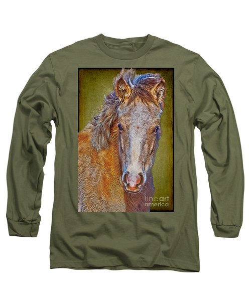 Pony Portrait  Long Sleeve T-Shirt