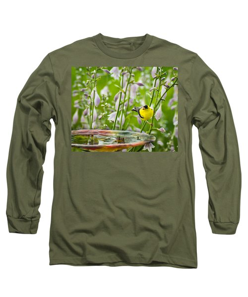Poolside Perch Long Sleeve T-Shirt