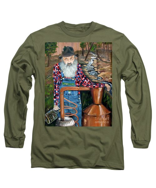 Popcorn Sutton - Bootlegger - Still Long Sleeve T-Shirt