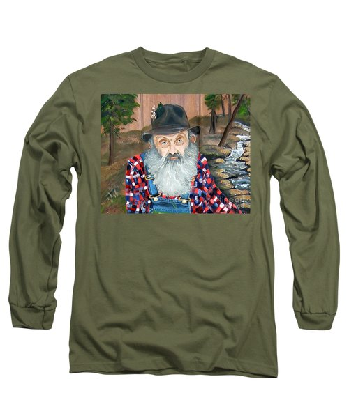 Popcorn Sutton - Moonshine Legend - Landscape View Long Sleeve T-Shirt