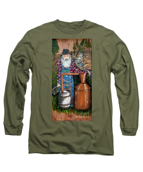 Popcorn Sutton - Moonshiner - Redneck Long Sleeve T-Shirt