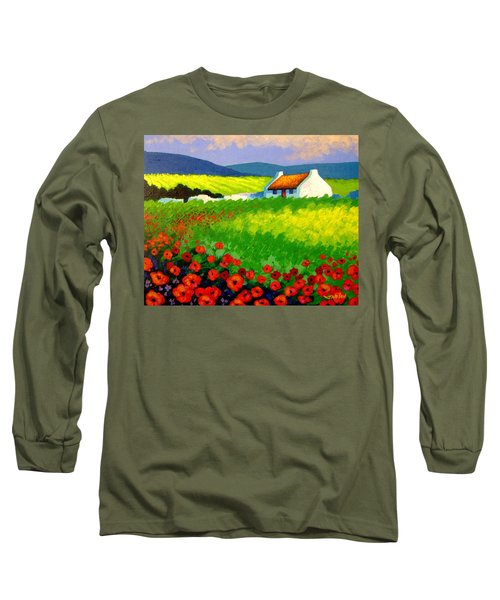 Poppy Field - Ireland Long Sleeve T-Shirt