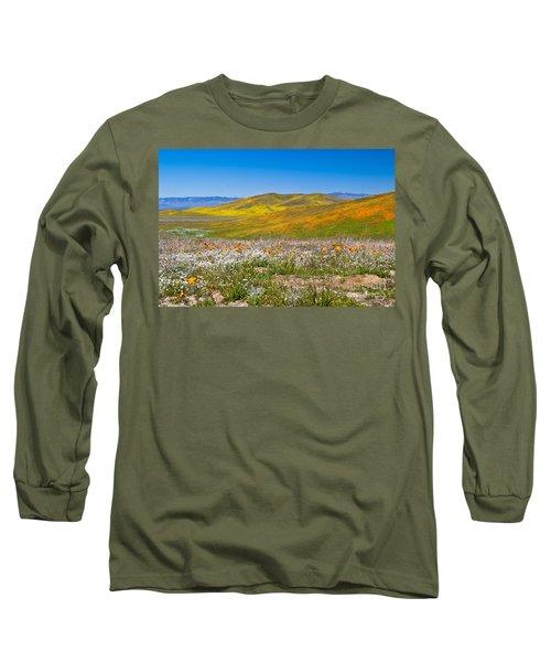 Poppy Fields Long Sleeve T-Shirt