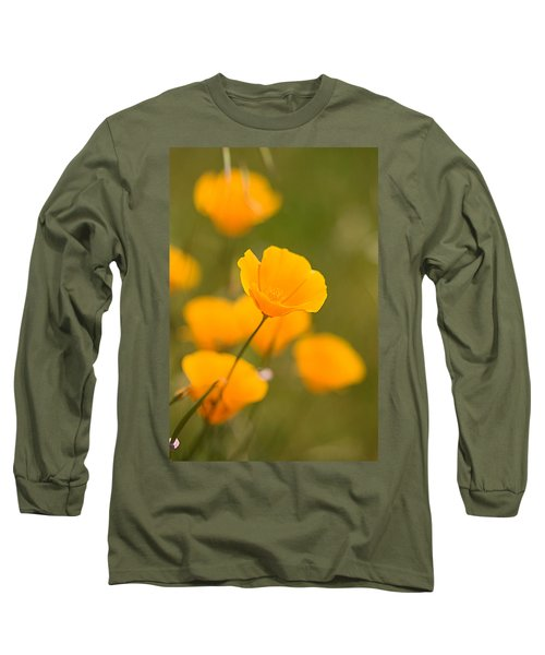 Long Sleeve T-Shirt featuring the photograph Poppy I by Ronda Kimbrow